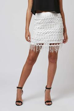 Goldie Vallance Lace Mini Skirt - Product List Image