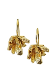 Malia Jewelry Goldplated Mineral Earrings - Product Mini Image