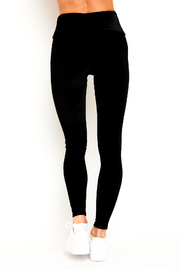 Goldsheep Velour Legging - Side cropped