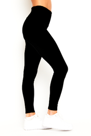Goldsheep Velour Legging - Front full body