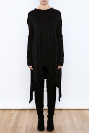 Goldspark Asymmetric Trapeze Tunic - Front cropped