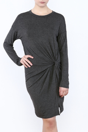 Goldspark Long Sleeve Jersey Dress - Product Mini Image
