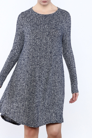 Goldspark Ribbed Sweater Dress - Product Mini Image