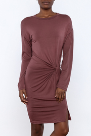 Goldspark Twist Knot Dress - Product Mini Image