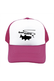 Outdoorable Apparel Gone Fishing Hat - Pink - Product Mini Image