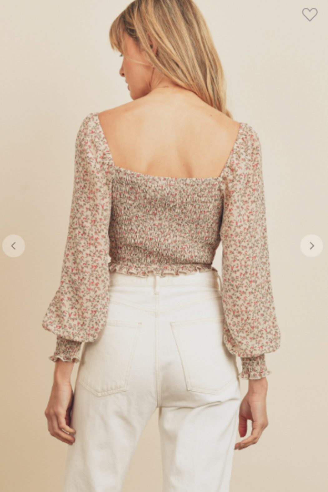 dress forum Gone With The Wind Blouse - Back Cropped Image