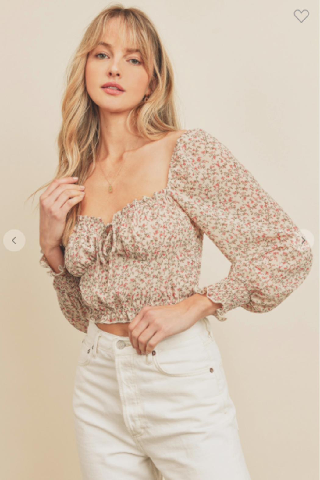 dress forum Gone With The Wind Blouse - Side Cropped Image
