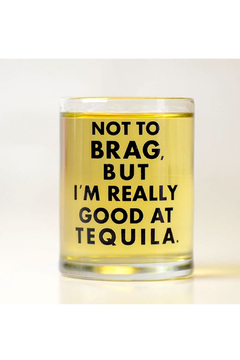 MERIWETHER Good at Tequila Shot Glass - Alternate List Image