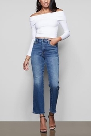 Good American  Good Curve Jean in Blue190 - Product Mini Image