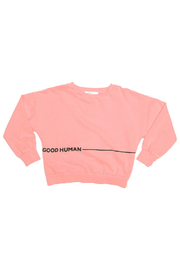 JOAH LOVE Good Human Pullover - Front cropped