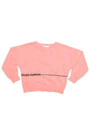 JOAH LOVE Good Human Pullover - Product Mini Image