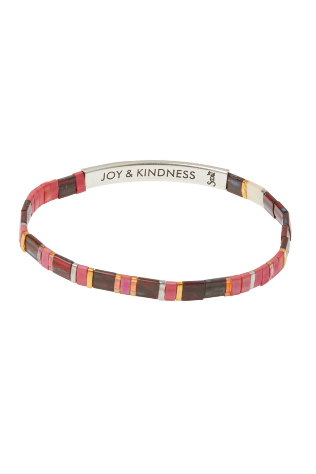 Scout CURATED WEARS GOOD KARMA MIUKI BRACELET - Front Cropped Image