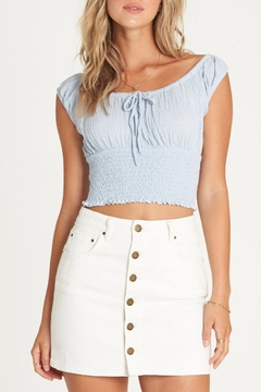 Billabong Good Life Denim Skirt - Product List Image