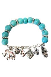 Shoptiques Product: Good Luck Bracelet  - Front cropped