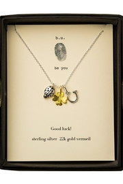 b.u. Jewelry Good Luck Necklace - Product Mini Image