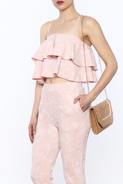 Good Time Flower Ruffle Top - Product List Image
