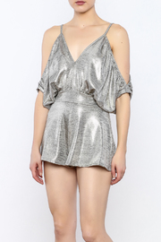 Good Time Kamang Foil Romper - Product Mini Image