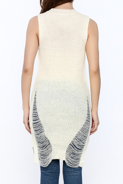 Good Time Knitted Sleeves Top - Alternate List Image
