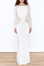 Good Time Lace Mermaid Dress - Front cropped