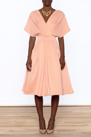 Good Time Puff Skirt Dress - Front cropped