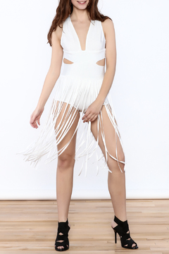 Good Time Sexy White Dress - Product List Image