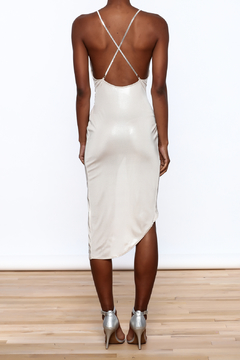Good Time Silky Wrapped Dress - Alternate List Image