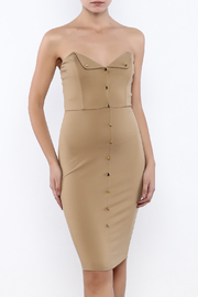 Good Time Strapless Bodycon Dress - Product Mini Image