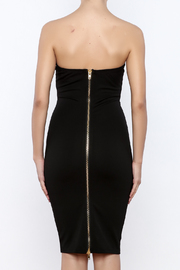 Good Time Strapless Bodycon Dress - Back cropped