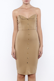 Good Time Strapless Bodycon Dress - Side cropped