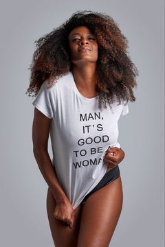 Shoptiques Product: Good-To-Be-A-Woman Tee