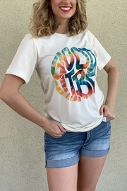 kissed Apparel Good Vibes graphic tee - Product Mini Image