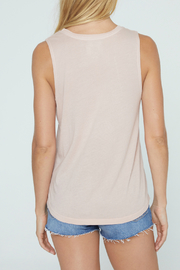 SPIRITUAL GANGSTER Good Vibes Muscle Tank - Front full body