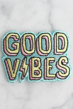 wildflower Good Vibes Patch - Product List Image