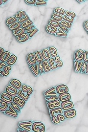 wildflower Good Vibes Patch - Front full body