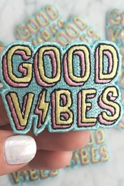 wildflower Good Vibes Patch - Side cropped