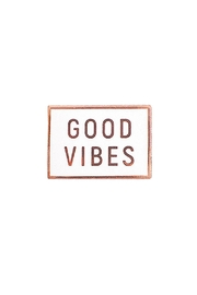 Everyday Olive Good Vibes Pin - Product Mini Image