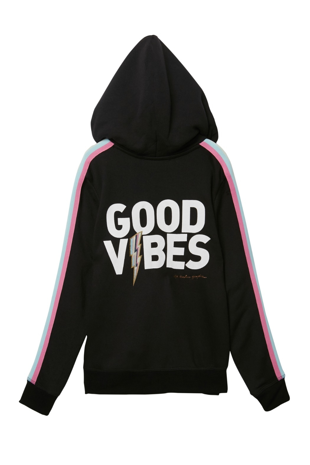 SPIRITUAL GANGSTER Good Vibes Pullover - Front Cropped Image
