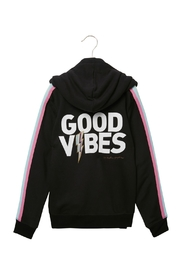 SPIRITUAL GANGSTER Good Vibes Pullover - Front full body