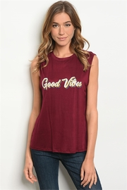 Sweet Claire Good Vibes Tee - Product Mini Image