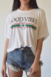 San Souci Good Vibes Tee - Front cropped