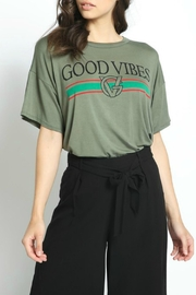 Natasha Couture Fashion Good Vibes Tee - Product Mini Image