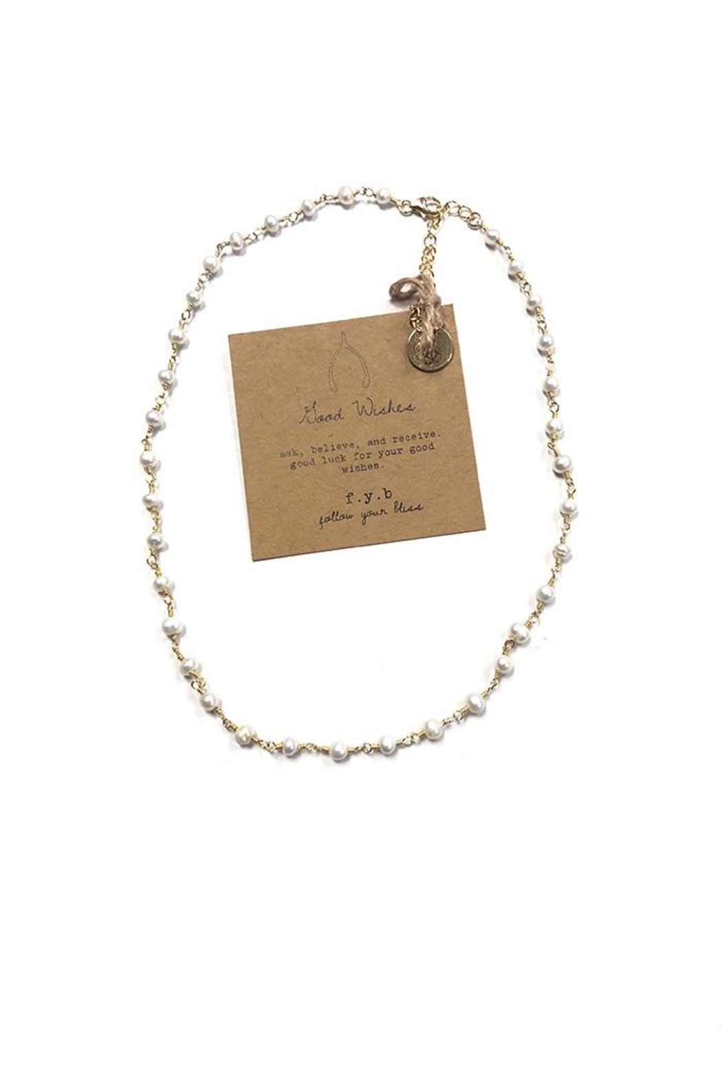Lets Accessorize Good Wishes Pearl-Choker - Main Image