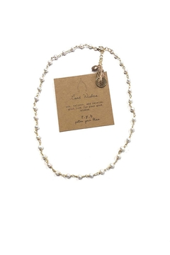 Shoptiques Product: Good Wishes Pearl-Choker