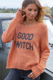 Wooden Ships Good Witch Peach/Ink - Front full body