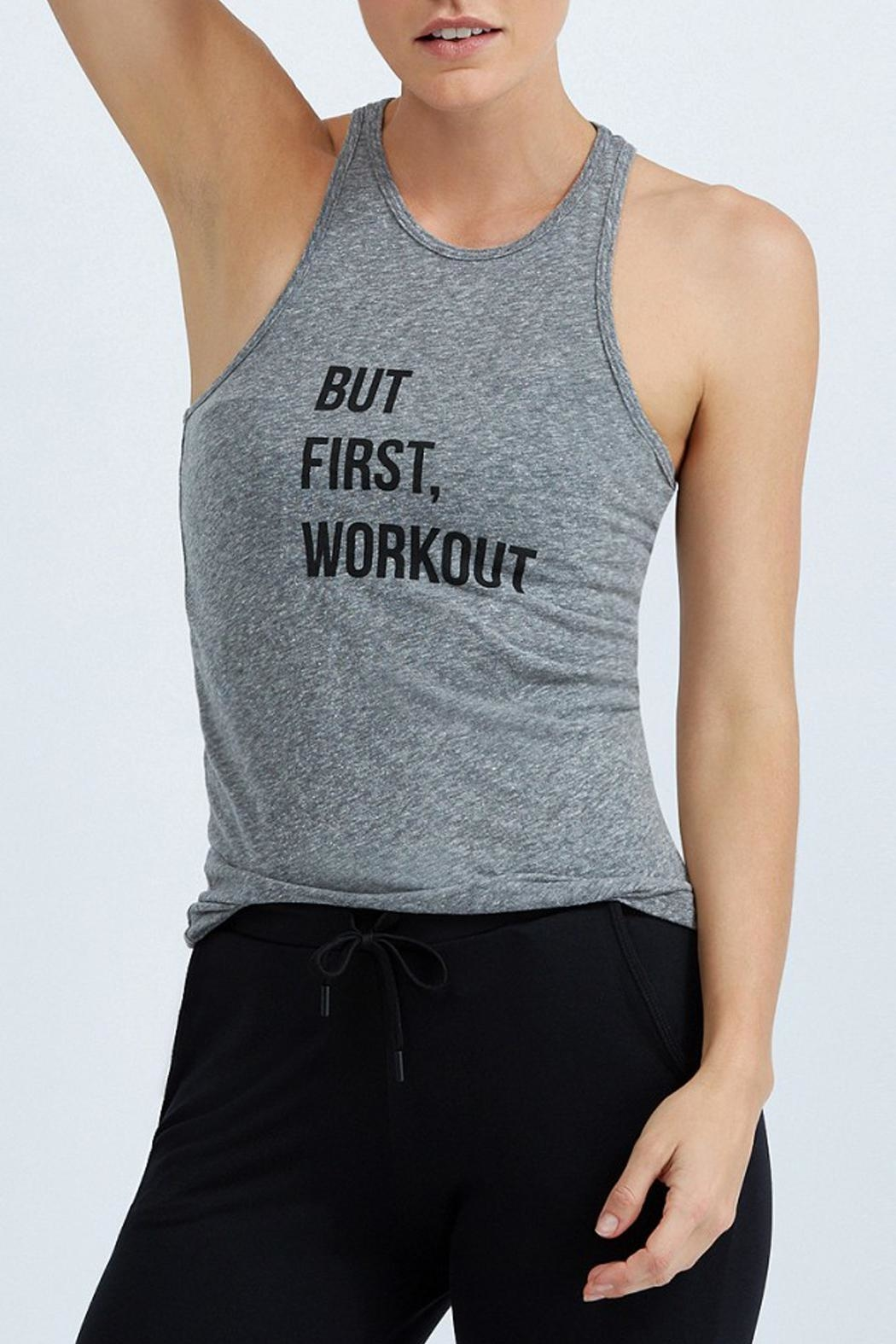 good hYouman Heather Workout Tank - Main Image