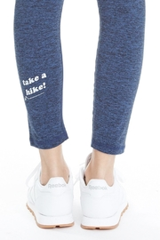 good hYouman Blue Logan Legging - Back cropped