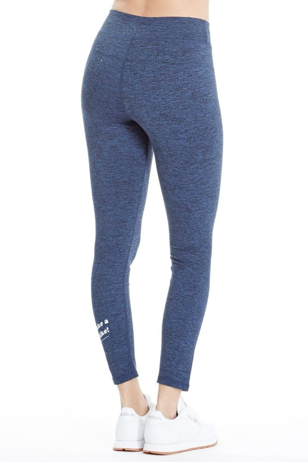 good hYouman Blue Logan Legging - Front Full Image