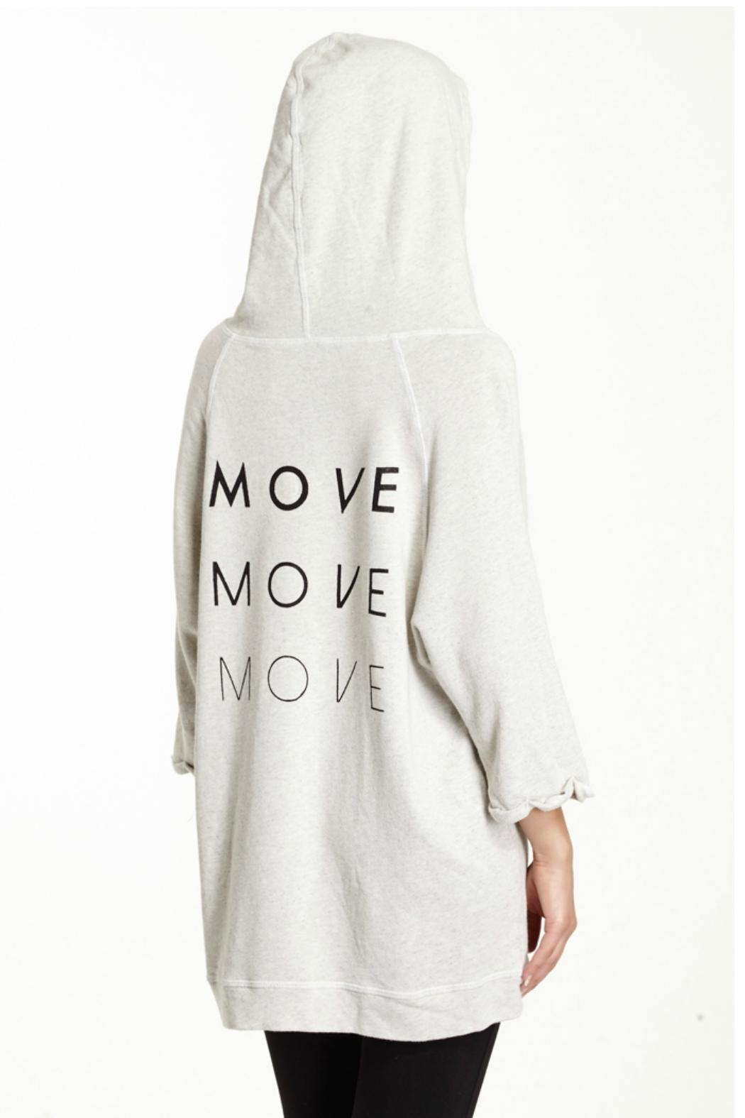 good hYouman White Hoodie - Front Full Image