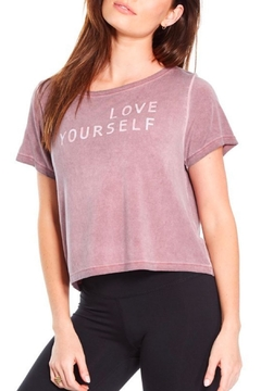 Good hYouman Payton Crop Tee - Product List Image