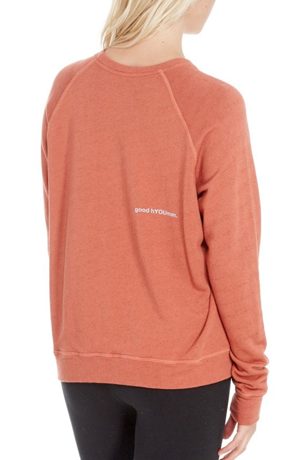 GoodhYOUman Retro Fit Pullover - Front Full Image